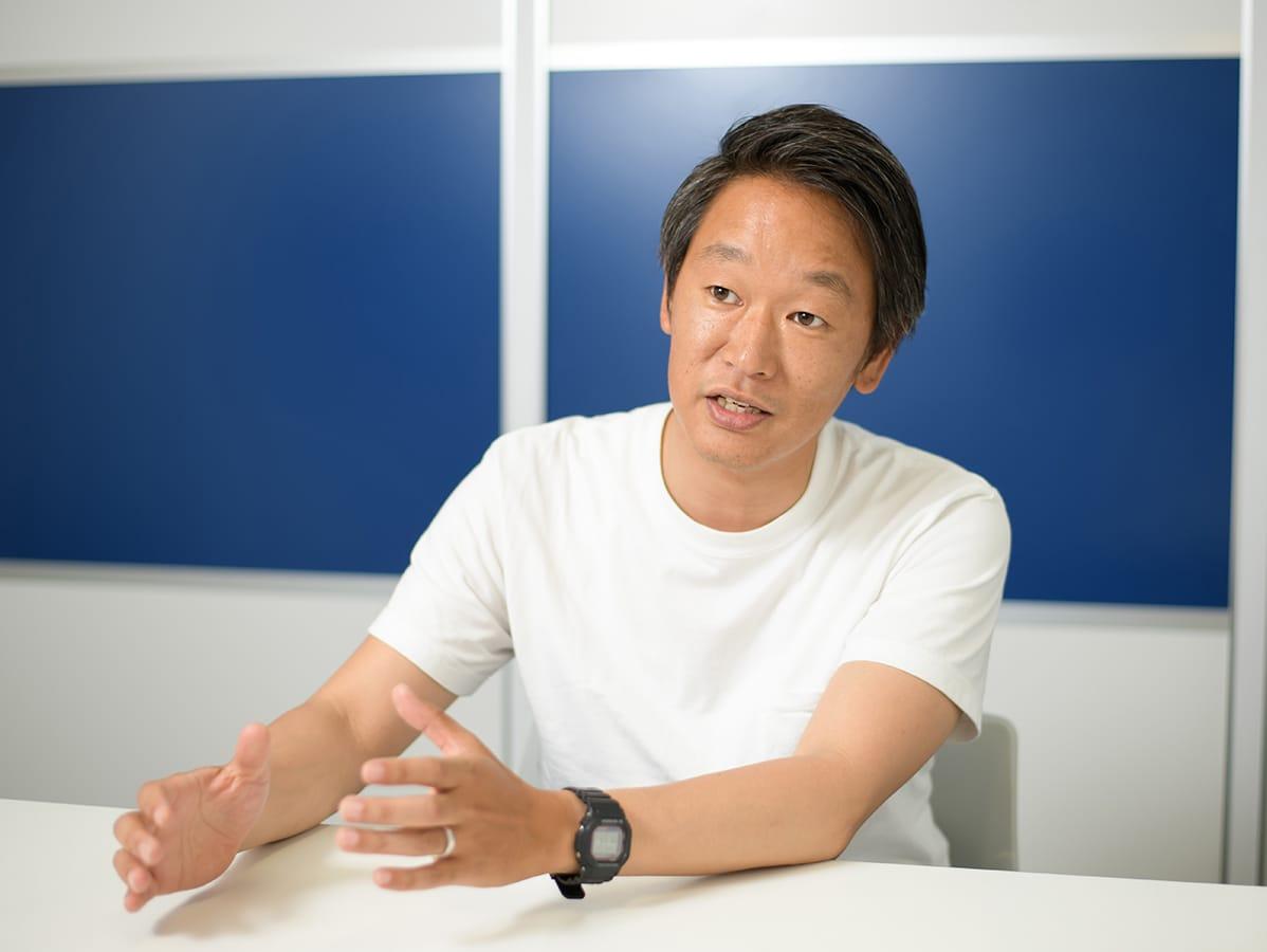 インタビューの画像
